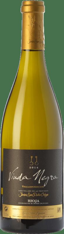 17,95 € | White wine San Pedro Ortega Viuda Negra Villahuercos Crianza D.O.Ca. Rioja The Rioja Spain Tempranillo White Bottle 75 cl