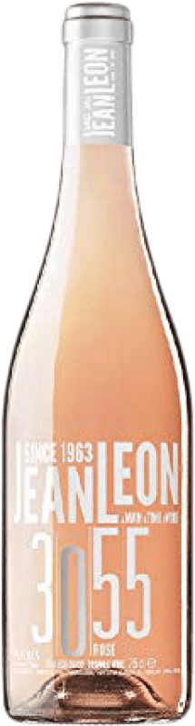 12,95 € | Rosé wine Jean Leon 3055 Rosé D.O. Penedès Catalonia Spain Pinot Black Bottle 75 cl