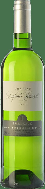 7,95 € Free Shipping | White wine Jean-Luc Thunevin Château Lafont Fourcat Blanc A.O.C. Bordeaux Bordeaux France Muscadelle Bottle 75 cl