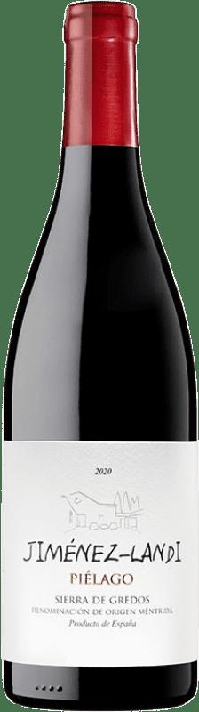 33,95 € Envío gratis | Vino tinto Jiménez-Landi Piélago Crianza D.O. Méntrida Castilla la Mancha España Garnacha Botella 75 cl