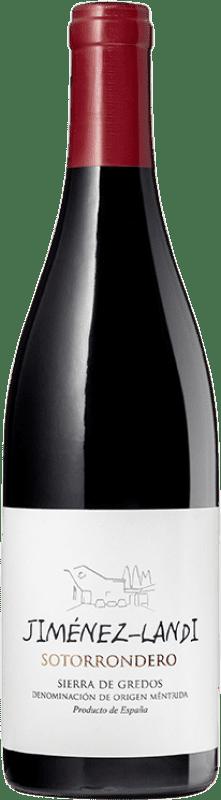 17,95 € Envío gratis | Vino tinto Jiménez-Landi Sotorrondero Crianza D.O. Méntrida Castilla la Mancha España Syrah, Garnacha Botella 75 cl