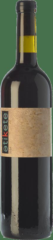 12,95 € Free Shipping | Red wine Jordi Llorens Atikete Crianza Spain Syrah, Grenache, Cabernet Sauvignon, Bobal Bottle 75 cl