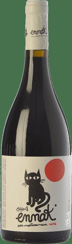 7,95 € | Red wine Jordi Miró Ennak Joven D.O. Terra Alta Catalonia Spain Tempranillo, Merlot, Grenache, Mazuelo Bottle 75 cl