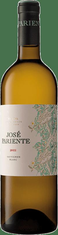 12,95 € 免费送货   白酒 José Pariente D.O. Rueda 卡斯蒂利亚莱昂 西班牙 Sauvignon White 瓶子 75 cl