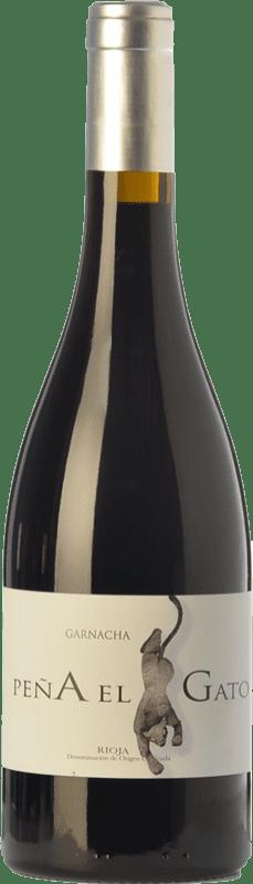 18,95 € | Red wine Sancha Peña El Gato Crianza D.O.Ca. Rioja The Rioja Spain Grenache Bottle 75 cl