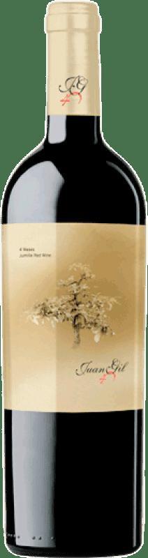 6,95 € 免费送货 | 红酒 Juan Gil Etiqueta Amarilla Joven D.O. Jumilla 卡斯蒂利亚 - 拉曼恰 西班牙 Monastrell 瓶子 75 cl