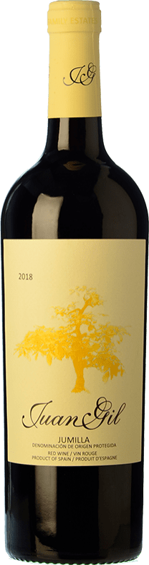 6,95 € Envoi gratuit | Vin rouge Juan Gil Etiqueta Amarilla Joven D.O. Jumilla Castilla La Mancha Espagne Monastrell Bouteille 75 cl