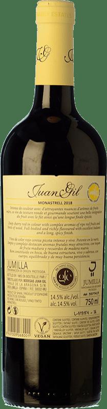 6,95 € Free Shipping | Red wine Juan Gil Etiqueta Amarilla Joven D.O. Jumilla Castilla la Mancha Spain Monastrell Bottle 75 cl