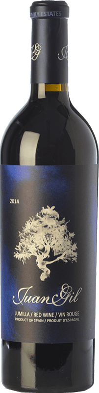 26,95 € Envoi gratuit | Vin rouge Juan Gil Etiqueta Azul Crianza D.O. Jumilla Castilla La Mancha Espagne Syrah, Cabernet Sauvignon, Monastrell Bouteille 75 cl