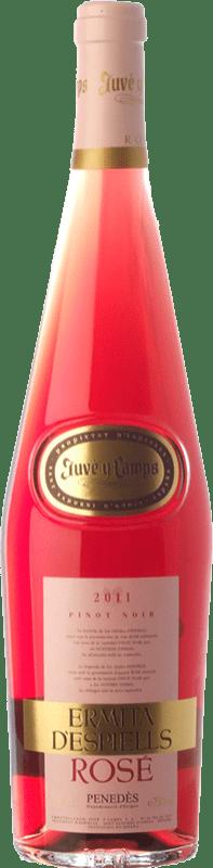 7,95 € | Rosé wine Juvé y Camps Ermita d'Espiells Rosé D.O. Penedès Catalonia Spain Pinot Black Bottle 75 cl