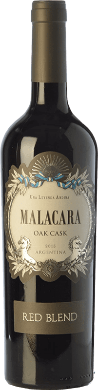 13,95 € | Red wine Kauzo Malacara Oak Cask Red Blend Joven I.G. Valle de Uco Uco Valley Argentina Merlot, Cabernet Sauvignon, Malbec Bottle 75 cl