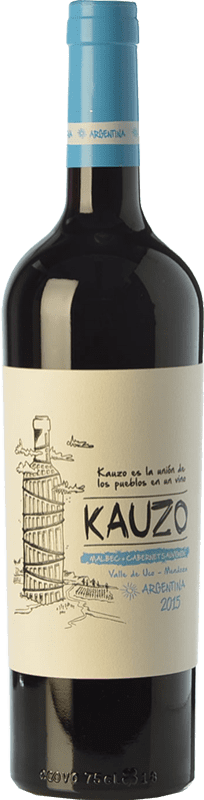 12,95 € | Red wine Kauzo Malbec-Cabernet Joven I.G. Valle de Uco Uco Valley Argentina Cabernet Sauvignon, Malbec Bottle 75 cl