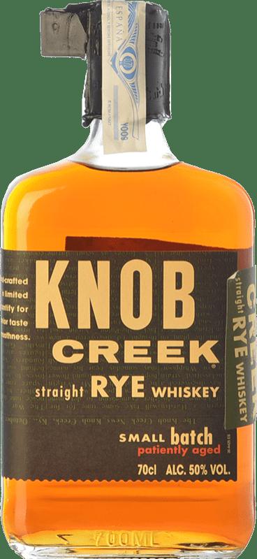 52,95 € 免费送货   波旁酒 Knob Creek Rye 肯塔基 美国 瓶子 70 cl