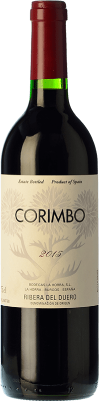24,95 € Free Shipping | Red wine La Horra Corimbo Crianza D.O. Ribera del Duero Castilla y León Spain Tempranillo Bottle 75 cl