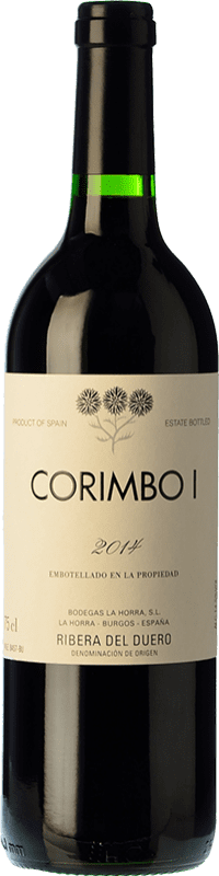 37,95 € Free Shipping | Red wine La Horra Corimbo I Crianza D.O. Ribera del Duero Castilla y León Spain Tempranillo Bottle 75 cl