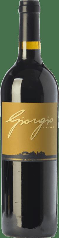 198,95 € Free Shipping | Red wine La Massa Giorgio Primo I.G.T. Toscana Tuscany Italy Merlot, Cabernet Sauvignon, Sangiovese Magnum Bottle 1,5 L