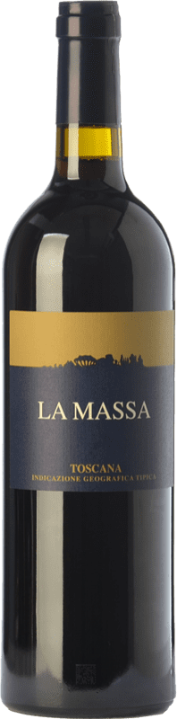 47,95 € Free Shipping | Red wine La Massa I.G.T. Toscana Tuscany Italy Merlot, Grenache, Cabernet Sauvignon, Sangiovese Magnum Bottle 1,5 L