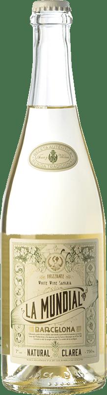 9,95 € Free Shipping | Sangaree La Mundial Clarea Frizzante Catalonia Spain Bottle 75 cl