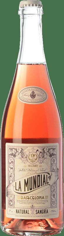 9,95 € Envío gratis | Sangría La Mundial Rosé Frizzante Cataluña España Botella 75 cl