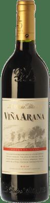 9,95 € 免费送货 | 红酒 Rioja Alta Viña Arana Reserva D.O.Ca. Rioja 拉里奥哈 西班牙 Tempranillo, Mazuelo 半瓶 37 cl