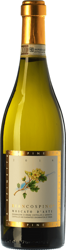 15,95 €   Sweet wine La Spinetta Biancospino D.O.C.G. Moscato d'Asti Piemonte Italy Muscatel White Bottle 75 cl