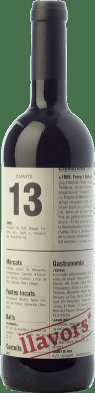 9,95 € Envoi gratuit   Vin rouge La Vinyeta Llavors Joven D.O. Empordà Catalogne Espagne Merlot, Syrah, Cabernet Sauvignon, Carignan, Cabernet Franc Bouteille 75 cl