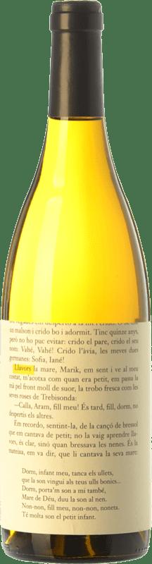 9,95 € Envío gratis | Vino blanco La Vinyeta Llavors Blanc Crianza D.O. Empordà Cataluña España Macabeo, Xarel·lo Botella 75 cl