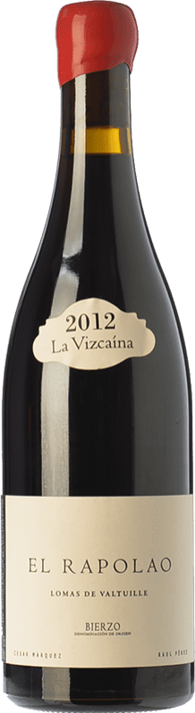 25,95 € | Red wine La Vizcaína Rapolao Crianza D.O. Bierzo Castilla y León Spain Mencía, Grenache Tintorera, Sousón, Estaladiña Bottle 75 cl
