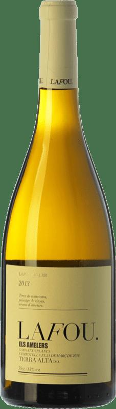 18,95 € Envío gratis | Vino blanco Lafou Els Amelers Crianza D.O. Terra Alta Cataluña España Garnacha Blanca Botella 75 cl
