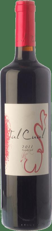 8,95 € Free Shipping | Red wine Lagar d'Amprius Tal Cual Joven I.G.P. Vino de la Tierra Bajo Aragón Aragon Spain Syrah, Grenache Bottle 75 cl