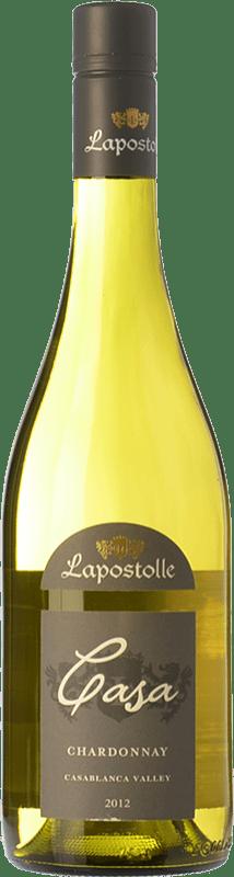 14,95 € Free Shipping | White wine Lapostolle Chardonnay I.G. Valle de Casablanca Valley of Casablanca Chile Chardonnay, Sémillon Bottle 75 cl