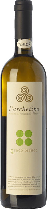 15,95 € Free Shipping | White wine L'Archetipo Bianco I.G.T. Salento Campania Italy Greco Bottle 75 cl
