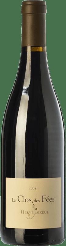 59,95 € Free Shipping | Red wine Le Clos des Fées Crianza I.G.P. Vin de Pays Roussillon Roussillon France Syrah, Grenache, Monastrell, Carignan Bottle 75 cl