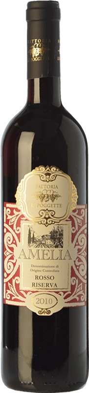 9,95 € | Red wine Le Poggette Rosso D.O.C. Amelia Umbria Italy Sangiovese, Montepulciano, Canaiolo Bottle 75 cl