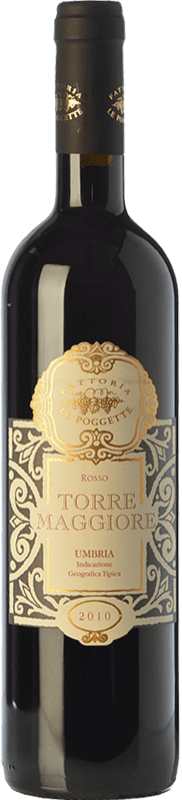 21,95 € Free Shipping | Red wine Le Poggette Torre Maggiore I.G.T. Umbria Umbria Italy Montepulciano Bottle 75 cl
