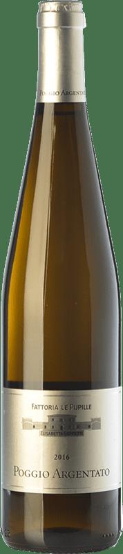 12,95 € Free Shipping | White wine Le Pupille Poggio Argentato I.G.T. Toscana Tuscany Italy Sauvignon White, Gewürztraminer, Sémillon, Petit Manseng Bottle 75 cl