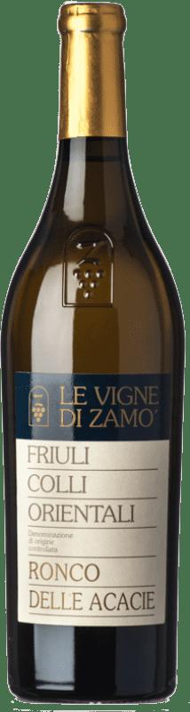 22,95 € Free Shipping | White wine Zamò Ronco delle Acacie D.O.C. Colli Orientali del Friuli Friuli-Venezia Giulia Italy Chardonnay, Friulano Bottle 75 cl