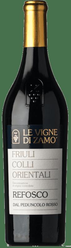 16,95 € Free Shipping | Red wine Zamò D.O.C. Colli Orientali del Friuli Friuli-Venezia Giulia Italy Riflesso dal Peduncolo Rosso Bottle 75 cl