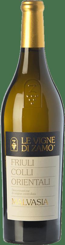 16,95 € Free Shipping | White wine Zamò Malvasia D.O.C. Colli Orientali del Friuli Friuli-Venezia Giulia Italy Malvasia Istriana Bottle 75 cl
