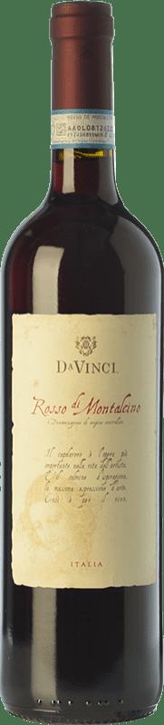 13,95 € | Red wine Leonardo da Vinci Da Vinci D.O.C. Rosso di Montalcino Tuscany Italy Sangiovese Bottle 75 cl
