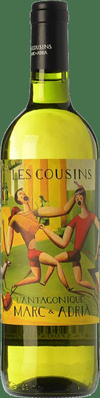 16,95 € 免费送货 | 白酒 Les Cousins L'Antagonique Crianza D.O.Ca. Priorat 加泰罗尼亚 西班牙 Grenache, Carignan, Grenache White, Trepat, Macabeo, Escanyavella 瓶子 75 cl