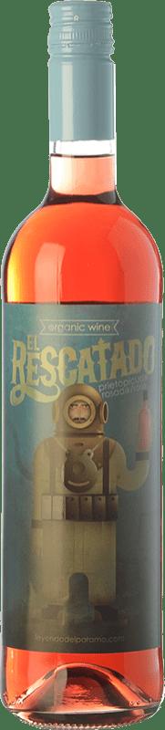 6,95 € Envío gratis | Vino rosado Leyenda del Páramo El Rescatado D.O. León Castilla y León España Prieto Picudo Botella 75 cl