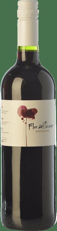 5,95 € | Red wine Leyenda del Páramo Flor del Páramo Joven D.O. Tierra de León Castilla y León Spain Prieto Picudo Bottle 75 cl