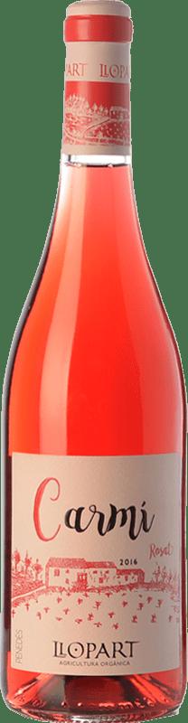 11,95 € Free Shipping | Rosé wine Llopart Carmí D.O. Penedès Catalonia Spain Grenache, Sumoll Bottle 75 cl