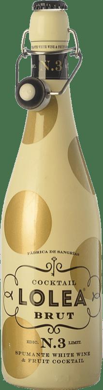 9,95 € Envío gratis | Sangría Lolea Nº 3 Brut España Botella 75 cl