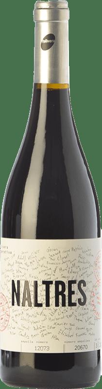 12,95 € | Red wine L'Olivera Naltres Joven D.O. Costers del Segre Catalonia Spain Grenache, Cabernet Sauvignon, Touriga Nacional, Trepat Bottle 75 cl