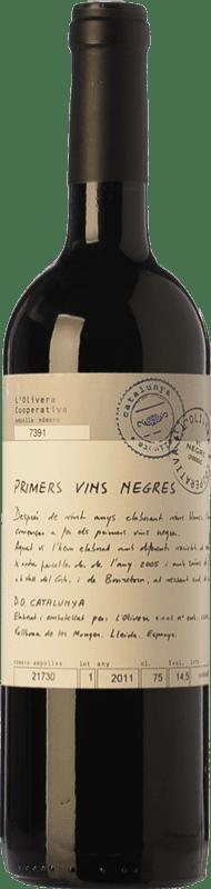 7,95 € | Red wine L'Olivera Primers Vins Negres Joven D.O. Costers del Segre Catalonia Spain Syrah, Grenache, Cabernet Sauvignon, Monastrell Bottle 75 cl
