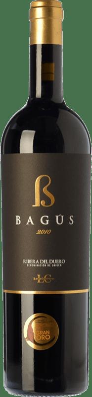 42,95 € 免费送货 | 红酒 López Cristóbal Bagús Crianza D.O. Ribera del Duero 卡斯蒂利亚莱昂 西班牙 Tempranillo 瓶子 75 cl