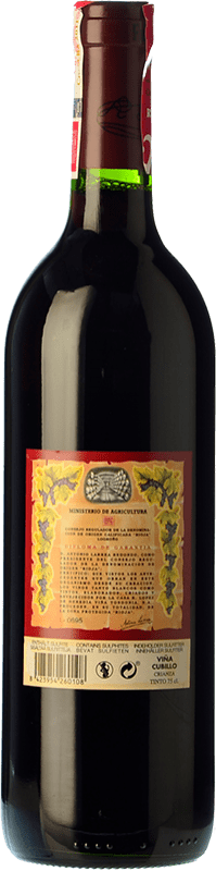 15,95 € Free Shipping | Red wine López de Heredia Viña Cubillo Crianza D.O.Ca. Rioja The Rioja Spain Tempranillo, Grenache, Graciano, Mazuelo Bottle 75 cl