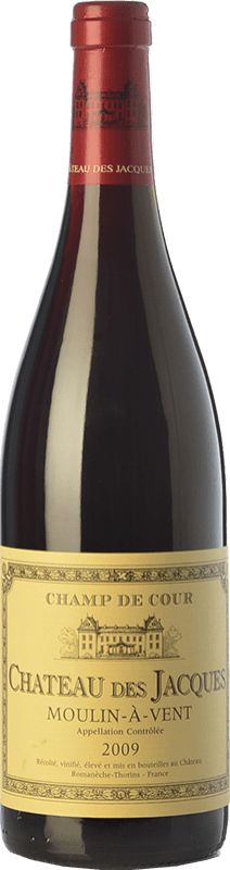 24,95 € | Red wine Louis Jadot Château des Jacques Champ de Coeur Crianza A.O.C. Moulin à Vent Beaujolais France Gamay Bottle 75 cl